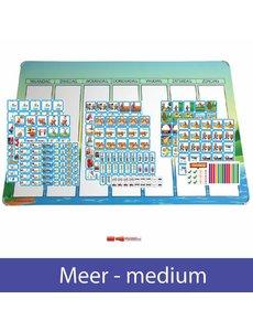 Kinderplanborden Planpakket Meer - medium (jongen)