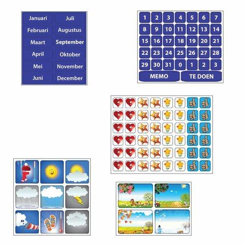 Kinderplanborden Planpakket Meer - groot (jongen)