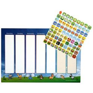 Morgenster Planbordset - een planbord met pictogrammen voor uw kind