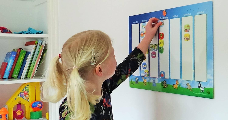 Planbordset weekplanner voor kinderen