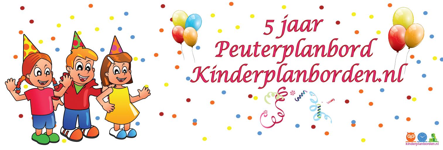 5 jaar peuterplanbord / kinderplanborden.nl