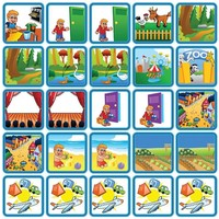 Recreatie & Uitjes - 25 pictogrammen (jongen)