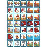 Spel & Ontspanning - 35 pictogrammen (jongen)