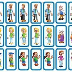 Zonneroosje Personen - 27 pictogrammen