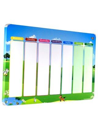 Kinderplanborden Planbord Weide