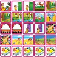 Recreatie & Uitjes - 25 pictogrammen (meisje)