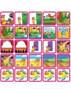 Zonneroosje Recreatie & Uitjes - 25 pictogrammen (meisje)