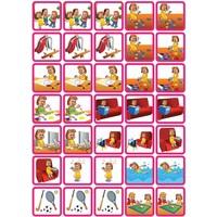 Spel & Ontspanning - 35 pictogrammen (meisje)