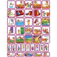 Dagsetje - 39 pictogrammen (meisje)