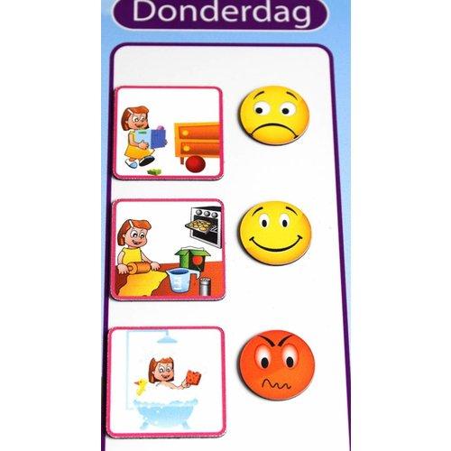 Kinderplanborden Moodies - 9 pictogrammen