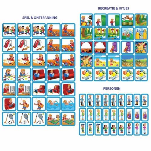 Kinderplanborden Planpakket Blauwe Ster - medium (jongen)