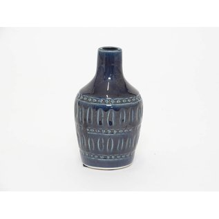 Vaas ceramic blauw