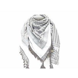 Dunks Sjaal Indy grijs /wit