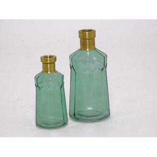 Fles licht groen L