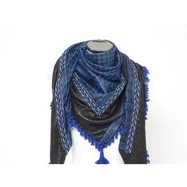 Dunks Sjaal cobalt blauw