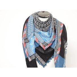 Sjaal Turquoise indiaanband