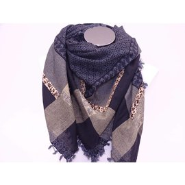 Sjaal met panter print