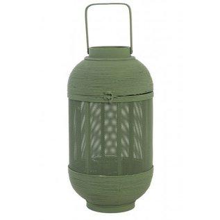 Windlicht Bamboe groen