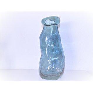 Vaas glas blauw