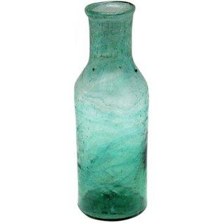 vaasje recycled glas groen