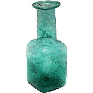 Vaas recycle glas groen