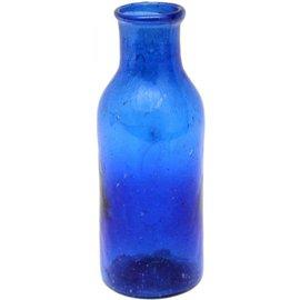 Vaasje recycled blauw