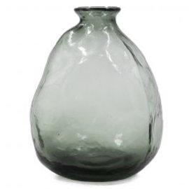 Vaas zwart glas