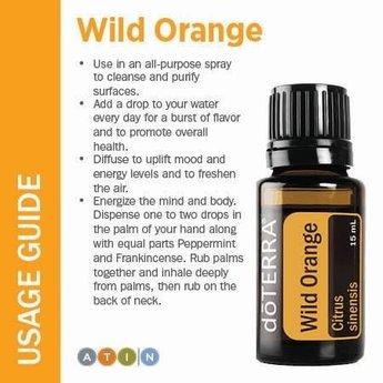 doTERRA Wild Orange Essential Oil 15 ml.