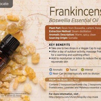 doTERRA Essential Oils Frankincense Essentiële Olie enkelvoudige olie 15 ml.