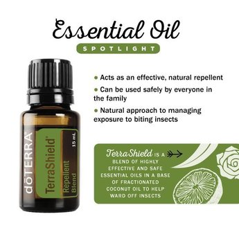 doTERRA Essential Oils Terrashield essentiële olie Outdoor blend doTERRA