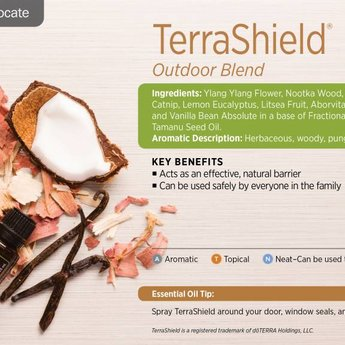 doTERRA Terrashield essentiële olie Outdoor blend doTERRA
