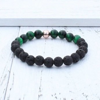 AromaLove Lava with stone diffuser bracelet