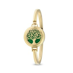 AromaLove Tree of Life aromadiffuser bracelet (gold)