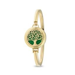 AromaLove Tree of Life aromadiffuser bracelet (gold)