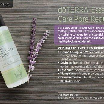 doTERRA Essential Oils Essential Skincare Pore Reducing Toner