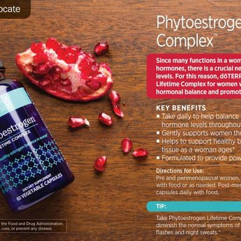 doTERRA Essential Oils Phytoestrogen Lifetime Complex 60 caps