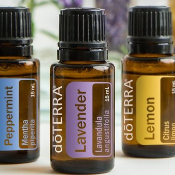 doTERRA Beginner's Trio - Lavendel, Citroen, Pepermunt