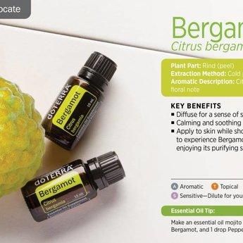 doTERRA Bergamot essentiële olie - enkelvoudige olie