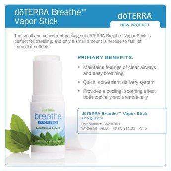 doTERRA Essential Oils Breathe Vapor Stick