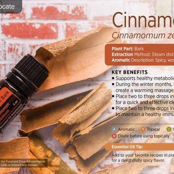 doTERRA Cinnamon Essential Oil