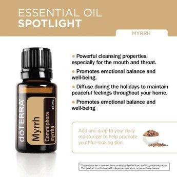 doTERRA Essential Oils Mirre Etherische Olie