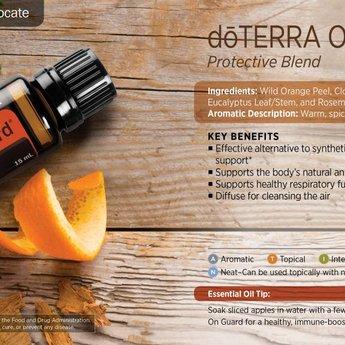 doTERRA Essential Oils On Guard Essentiële Olie blend - Beschermende Samenstelling 15 ml.