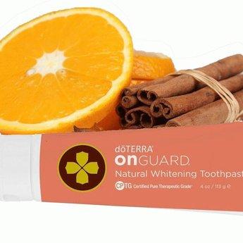 doTERRA Essential Oils On Guard Whitening Tandpasta doTERRA