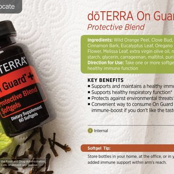 doTERRA On Guard+ Softgels 60 st.