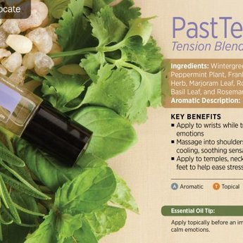 doTERRA Essential Oils Past Tense Roll On Essential Oil