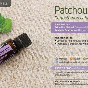 doTERRA Patchouli Essential Oil 15 ml.