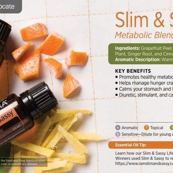 doTERRA Slim & Sassy Essential Oil blend - Metabolic Blend