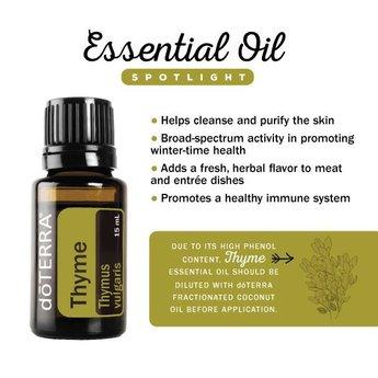 doTERRA Essential Oils Tijm Essentiële Olie