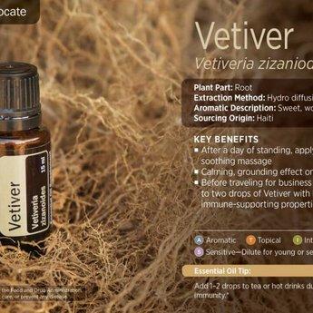 doTERRA Essential Oils Vetiver Essential Oil