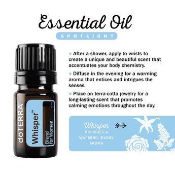 doTERRA Essential Oils Whisper Essentiële Olie blend - Samenstelling voor Vrouwen